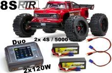 ARA5810 ARRMA OUTCAST 8S BLX 2.0 4WD Brushless Stunt Truck R