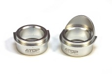 AT-5T016/01 ATOP Alloy bearing inserts, rear diff,  5ive-T/2