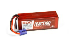 DYNB3804EC Dynamite Reaction 4S (14.8V) 5000mAh (50C) LiPo H