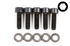 y0758 Special exhaust manifold screw set, 5 pcs.