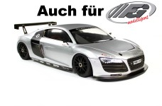 y1516 Audi R8 Karosserie, Radstand 535 mm, fertig lackiert