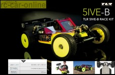 TLR 5ive-B 1:5 4WD Buggy Race Kit Preorder