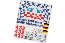 8170 FG Team-Dekorbogen BMW M3 GTR