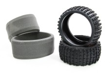 60210 FG Tire Off-Road Buggy M wide with inserts, rear