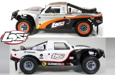 y3307 Genuine Losi 5ive-T body shell set, painted