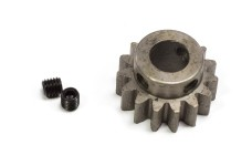 6047 FG Steel pinion small 15 teeth