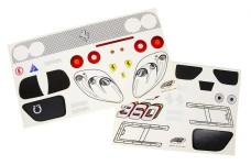 2069/01 FG Fahrzeug-Dekorbogen für Ferrari 360 GT