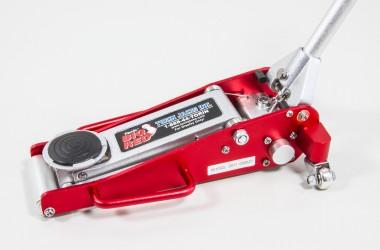 Y0837 Big Red Mini Aluminum Floor Jack For 1/5 And 1/6 Scale Models    Rc Car Online Onlineshop Hobbythek