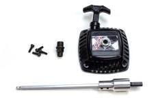 6061 Mielke pull starter with hybrid starter function