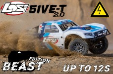 LOS05014T1/E Losi 5ive-T BEAST 2.0 Elektro 12S 1/5 4WD SCT g