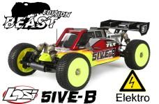 Losi TLR 5ive-BEAST 1:5 4WD Buggy Race Kit inkl. BEAST Motor + Regler / bis 12S