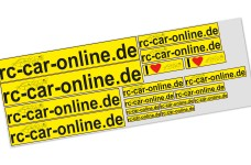 y3006 rc-car-online decal sheet yellow