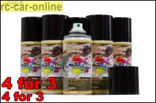 RC - Paint Lexan Farbe in 33 Farbtönen Sprühdose (