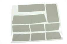 12055/02 FG Window masking stickers for Hummer H2