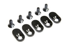 LOS252105 Losi 21T Engine Mount Insert & Screws, 5ive-T