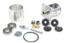 Fully assembled alloy diff incl. reinforced diff. tube and b