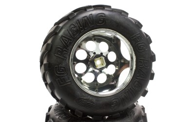 6229/07 FG Monster Truck tires H, glued, 2 pcs  - rc-car