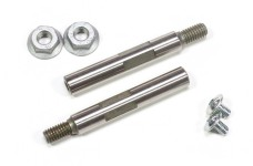 6104/03 Stainless steel wheel shafts for FG 2WD, 57.5 mm