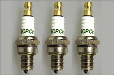 y1243 Set of 3 Torch CMR7H spark plugs f  Zenoah, CY, Reely