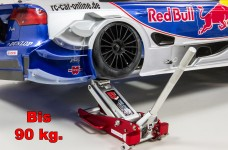 y0837 Big Red Mini aluminum floor jack for 1/5 and 1/6 scale
