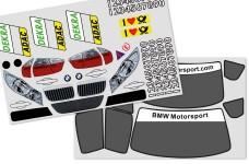 y1329 Fahrzeugdekorbogen BMW 320si WTCC