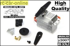 y2007 Digital Brushless Big Scale Servo, high quality