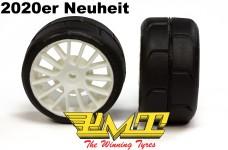PMT Supreme R400 Profile rain tires glued