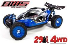 BWS 5B 2.0, 4WD Race Buggy 1:5 Race Car, mit 29 cm³ Motor