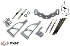 TT1019 Top Tuning Aluminum rear upper a-arms, Losi 5ive-T