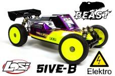 Losi TLR 5ive-BEAST 1:5 4WD Buggy Race Kit inkl. BEAST Motor
