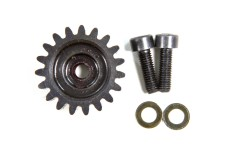 LOSB5044 Losi 19T Pinion Gear, 1.5M & Hardware 5T, TLR 5