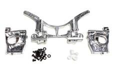 68400/01 FG Alloy damper plate/ alloy rear axle mounts Off-R