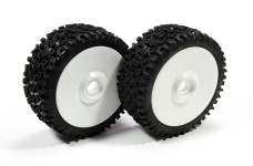 GW91 GRP-CROSS off-road race tires (S and P), glued for 24 m