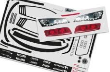 4173/01 FG Vehicle decals Audi R8 LMS