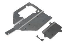 LOS251061 Losi Chassis & Motor Abdeckplatte, Super Baja