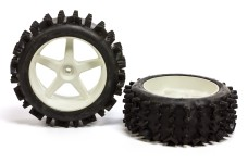 6225/05 FG Super-grip knobbed tires glued