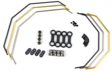 LOSB2562 Losi Sway Bar Set & Hardware F&R, 5ive-T/2.