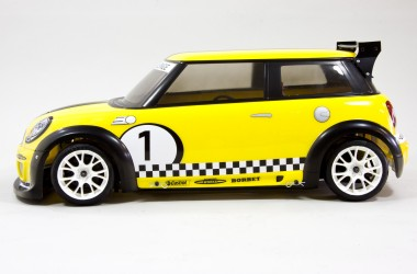 FG Sportsline with Mini Cooper body shell - rc-car-online Onlineshop