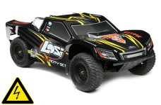 LOSI Tenacity 4WD SC Truck mit AVC 1:10 RTR (schwarz/gelb) &