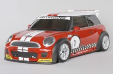 5180 FG Body set Mini Cooper, clear 2 mm for 510/515er wheel