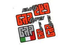 y0728/06 GRP Reifen Sponsor Aufkleber