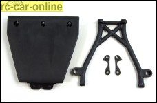 LOSB2574 Losi Unterfahrschutz u. Stoßfängerhalter
