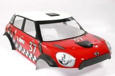 LOS250001/A Losi MINI WRC Karosserie Mittelteil, lackiert