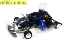 H.A.R.M. Racing Kart RK-1, with 26 cm³ engine