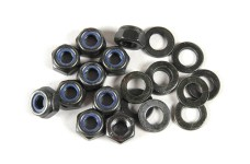 6112 FG M6 nylock nut with washer