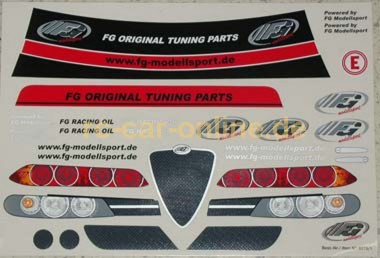 8079 01 Fg Vehicle Decal Set Fg Alfa Romeo Set Rc Car Online
