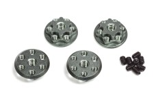 TXW-201-N Tourex safety wheel nuts M6, hard-coated