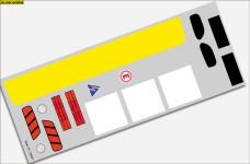 y3069/01 Fahrzeug-Dekorbogen Atego