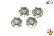 AREA-5T-030 Aluminum closed wheel nuts Losi 5ive-T/B, Mini,