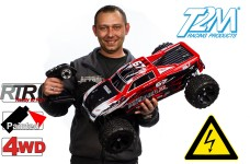 T4945/s T2M Pirate Puncher XL 1:6 4WD, RTR mit Brushless Motor
